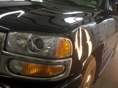 Buying A Car With Hail Damage >> Dents removed from GMC Denali by Dent Terminator of Tulsa ...