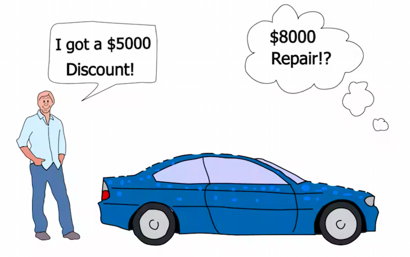 Buying A Car With Hail Damage Is It Really A Good Deal